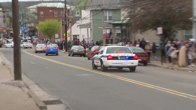Thousands attend and car flips at college Block Party | WOLF