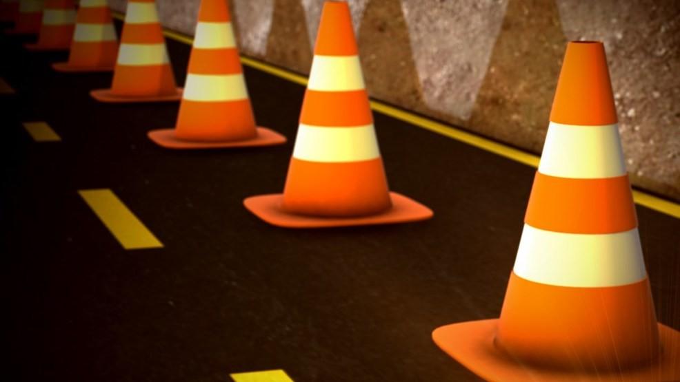 TRAFFIC ALERT: crash on I-80 west in Monroe Co  causing lane
